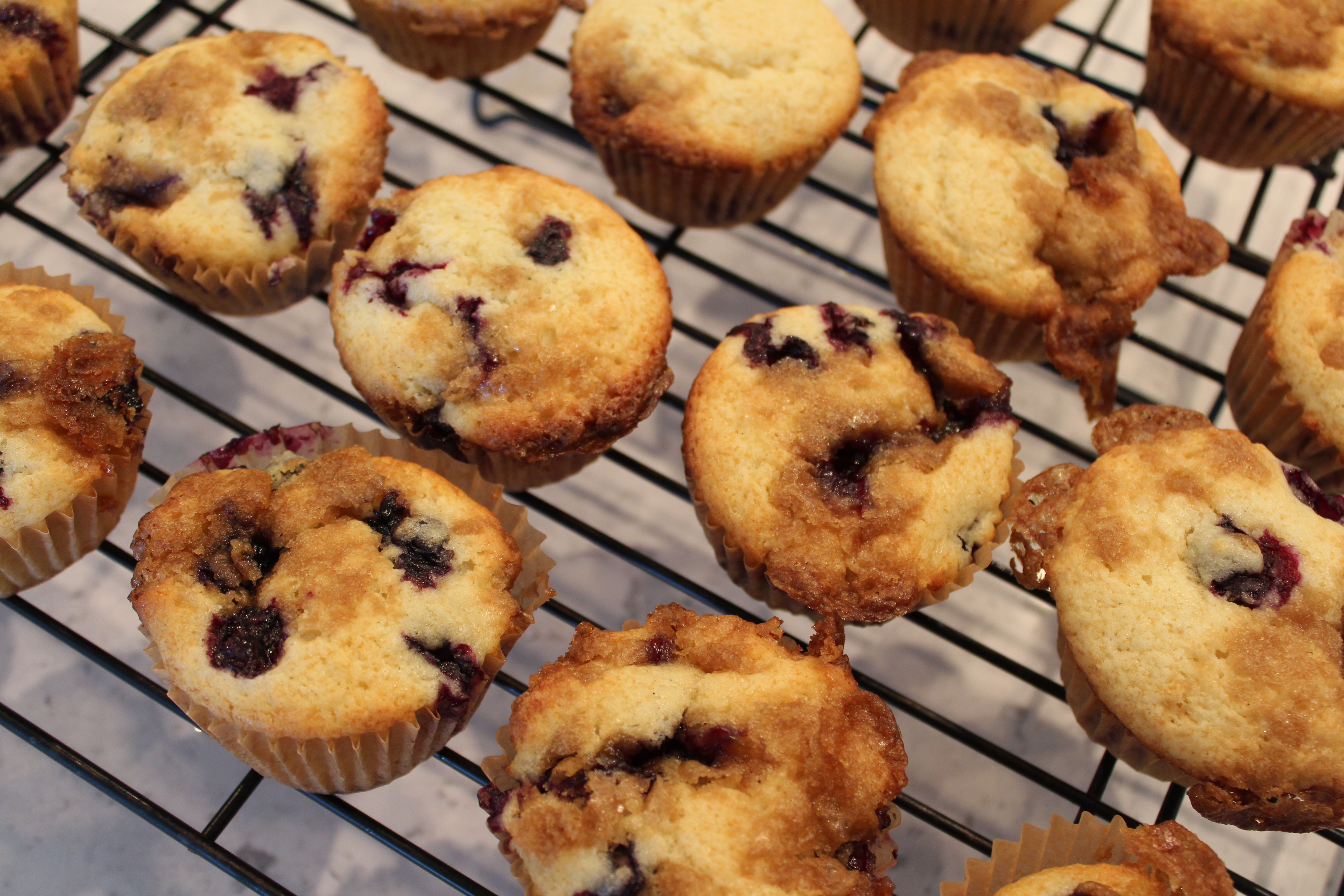 Pumpkin and Lemon Blueberry Muffins: The Stories You Don't Share